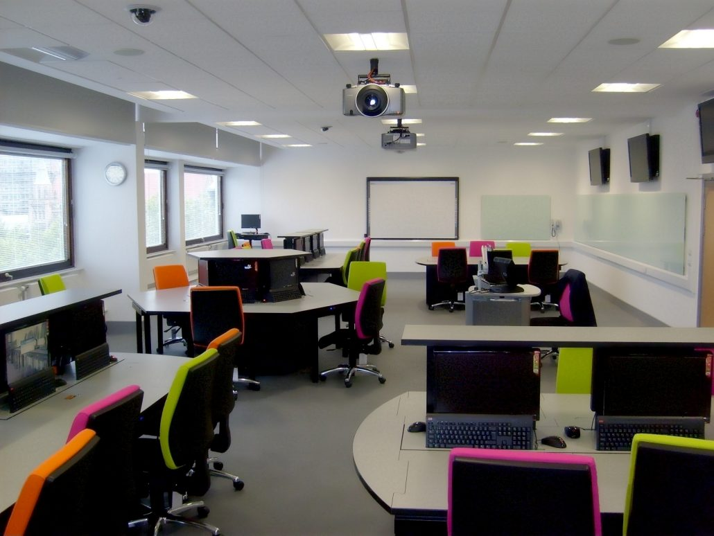 University Classroom Design Standards ~ Smart desk solutions for connected people i